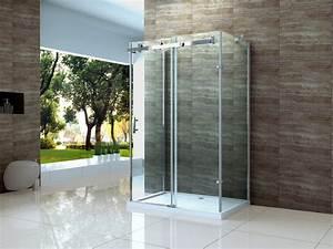 Schiebetür 80 Cm : scoop 120 x 80 cm duschtasse u form dusche glas duschkabine duschabtrennung ebay ~ Markanthonyermac.com Haus und Dekorationen