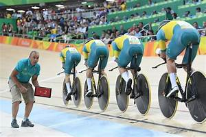 Brits break team pursuit world record as bruised Aussies ...