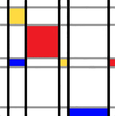 Piet Mondrian by In The Footsteps Of Piet Mondrian At A Considerable