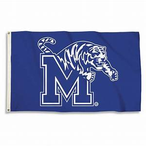 Memphis Tigers Logo 3' x 5' Flag