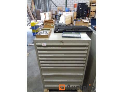 meuble m 233 tallique 224 tiroirs accessoires de mesures