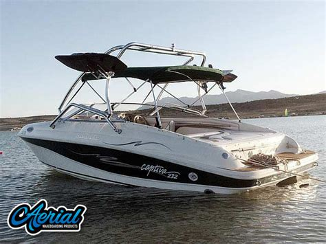 Wake Boat With Cabin by Rinker Wakeboard Towers Ski Towers Speakers Racks Biminis