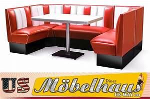 Us Diner Möbel : hw 120 american dinerbank sitzbank diner b nke m bel 50 s usa style gastronomie ebay ~ Markanthonyermac.com Haus und Dekorationen