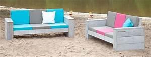 Outdoor Sofa Holz : bequeme outdoor sofas und sessel aus gebrauchtem holz wittekind m bel ~ Markanthonyermac.com Haus und Dekorationen