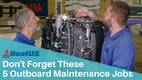 Boatus Jobs 5 outboard maintenance jobs most people forget boatus