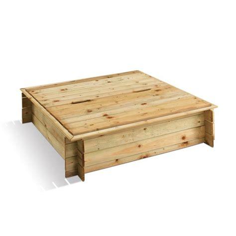 bac 224 en bois avec couvercle 120 x 120 cm 180 litres ludik jardipolys bricozor