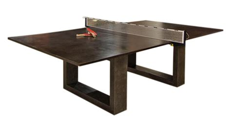 bespoke global product detail black ping pong dining table