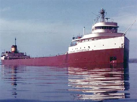 Sinking Of The Ss Edmund Fitzgerald by Misha S Blue November 2011
