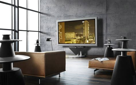 B Home Interiors :  Amazing Living Room Wallpapers