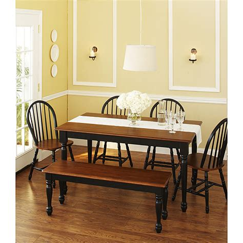 Kitchen Table Chairs At Walmart by Small Kitchen Table And Bench Set