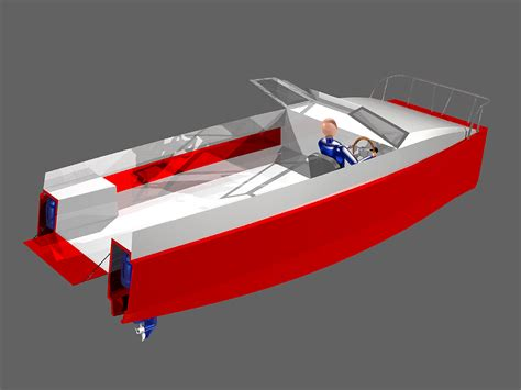 Catamaran Plans Plywood by Power Catamaran Boat Plans Plywood Free Boat Plans Top