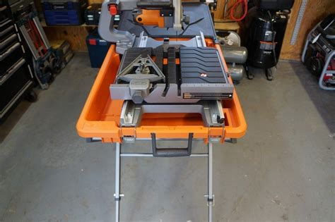 ridgid 8 quot tile saw review model r4040s tools in