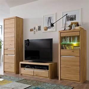 Schrank 300 Cm Breit : schrankwand aus wildeiche massivholz 250 cm breit 3 teilig wohnzimmerschrank wohnwand ~ Markanthonyermac.com Haus und Dekorationen