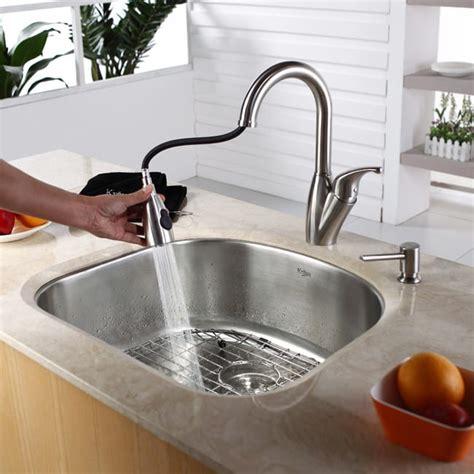 kraus kbu10 23 inch undermount single bowl kitchen sink with 16 stainless steel