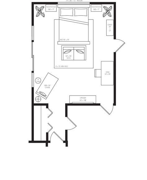master bedroom furniture layout santa master