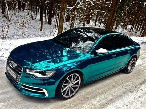 Audi A6 C7 Limousine Mit Tieferlegung Als Fotosimulation
