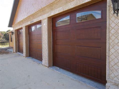 12 Mesmerizing Ideas Of Faux Wood Garage Doors
