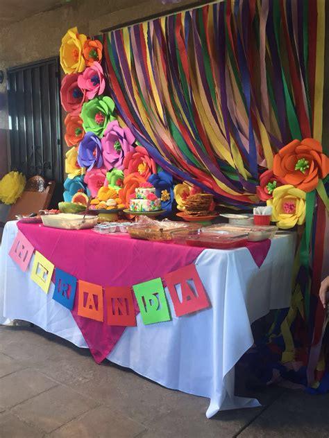 mexican dessert table pinteres