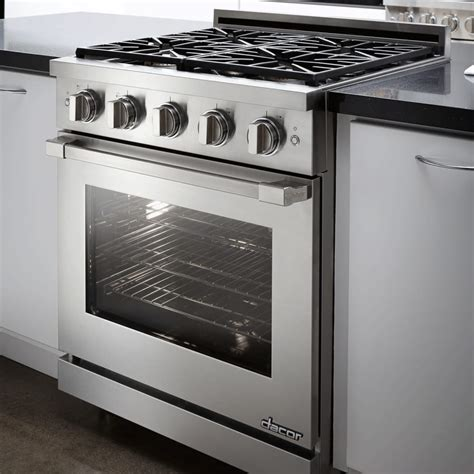 Dacor RNRP30GSNGH 30 Inch Freestanding Gas Range with 1
