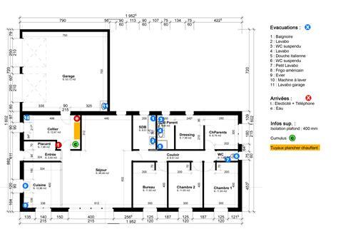 exemple de plan d une maison maison moderne