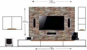 Tv An Wand Anbringen : vorbauwand f r tv center frontspeaker material tipps racks geh use hifi forum ~ Markanthonyermac.com Haus und Dekorationen