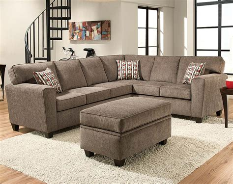 light gray sectional sofa not totally my style but the