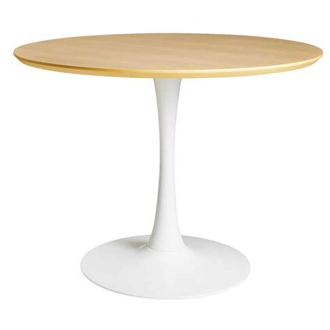 table 224 manger ronde 4 5 personnes d100 circle maisons du monde