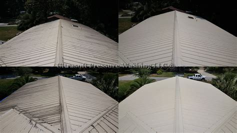 Metal Roof Cleaning Results Jacksonville, Florida Baja Roof Rack Discovery 2 Pics Of Flashing Roofing Tauranga Trade Me Sheeting A Shed Rubber Pond Liner Removing Moss From With Bleach And Water Pest Control Truss Plans For Sheds