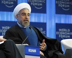 Rouhani's comedy routine in Davos - tribunedigital-mcall