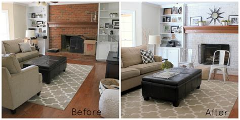 39 Before And After Family Room Makeovers, Before And