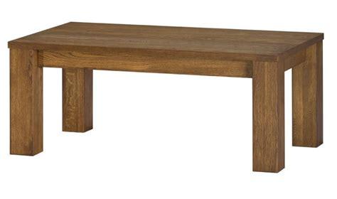 table basse en bois massif loft mobilier contemporain en chene massif