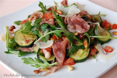 salade de pates jambon cru et chevre