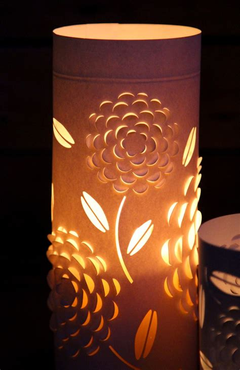 Diy Paper Lanterns With Beautiful 3d Flowers Design A
