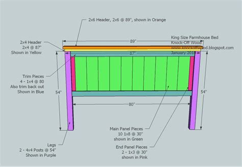 King Size Bed Woodworking Plans by Woodworking Plans For King Size Beds With Creative