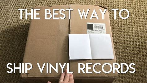 The Best Way To Ship A Stack Of Vinyl Records Youtube