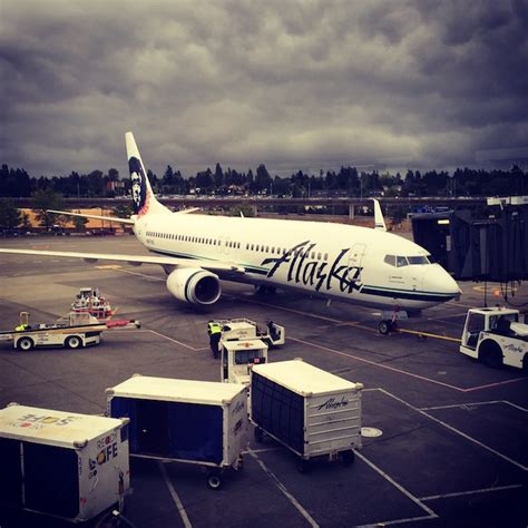 alaska airlines seattle office alaska and america merge real world aviation