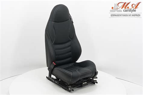 Leather Upholstery Kit For Sport Seats [bmw Z3] Black