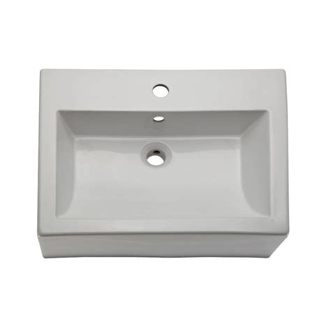 decolav classically redefined vessel sink in white 1417 1