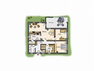Grundriss Bungalow 100 Qm : bungalow hausbau in und um berlin edas massivhaus ~ Markanthonyermac.com Haus und Dekorationen
