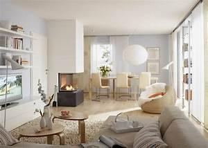 Wohnzimmer Farbe Gestaltung : wohnzimmer vorher nachher sch ner wohnen ~ Markanthonyermac.com Haus und Dekorationen