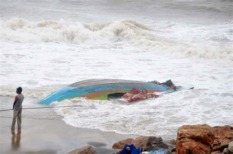 Boat Service Center In Vijayawada by Hudhud Leaves A Trail Of Destruction Rediff India News