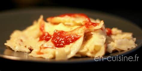recette ravioli au boeuf thermomix en cuisine