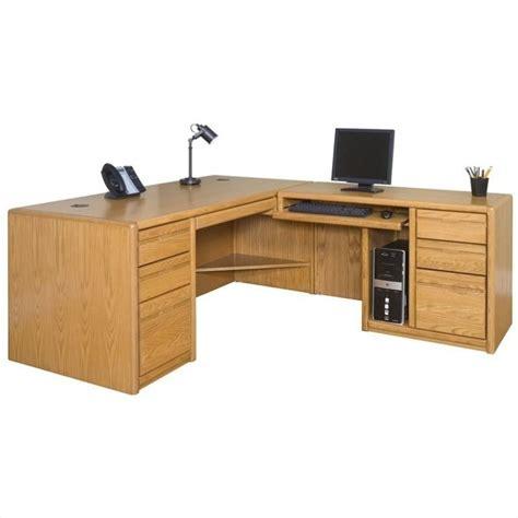 martin furniture contemporary rhf l shaped computer desk