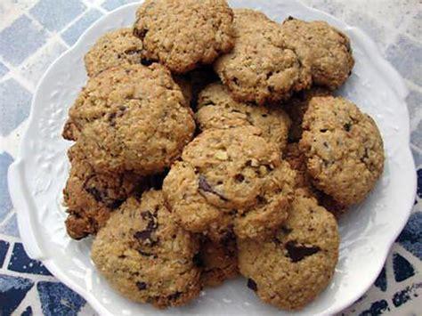 recette de cookie aux choco et flocons d avoine