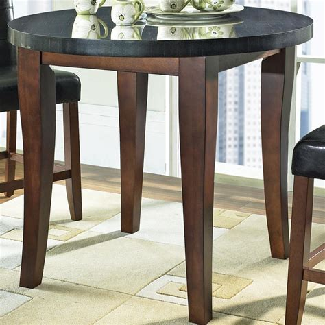 Prime Granite Bello Round Granite Top Counter Height Table. Help Desk Template. Small Office Desk Plants. Furniture Drawers. 40 Computer Desk