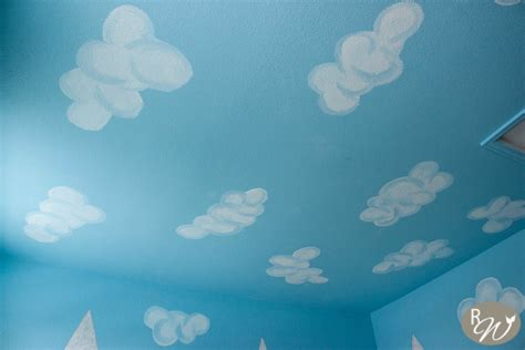 Diy Cloud Ceilingthe Easy Way!  The Rustic Willow