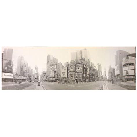 toile imprim 233 e new york quot times square quot gris
