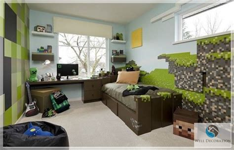 minecraft room decor minecraft themed bedroom
