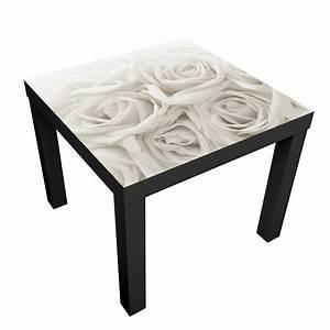 Ikea Lack Folie : m belfolie f r ikea lack klebefolie wei e rosen ~ Markanthonyermac.com Haus und Dekorationen