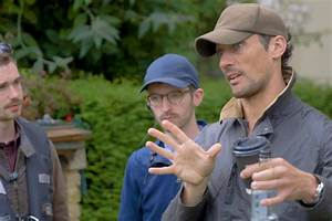 David Gandy: Behind the scenes of his first film ...